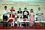 Release of Booklet on Awardees of Excellence in Sericulture